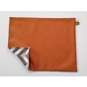 Messy Marvin Messy Reversible Placemat; Orange