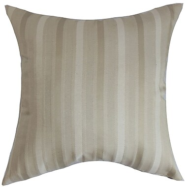 The Pillow Collection Giroflee Stripes Throw Pillow; 20'' x 20''