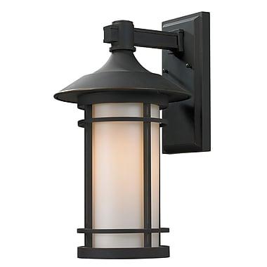 Z-Lite Woodland 1-Light Outdoor Wall Lantern; 17.13'' H x 10'' W x 11.25'' D