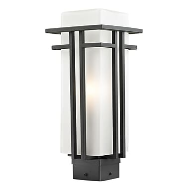 Z-Lite Abbey Outdoor 1-Light Lantern Head; 15.75'' H x 6.63'' D