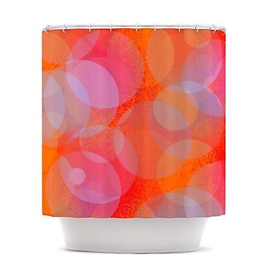 KESS InHouse Six Shower Curtain