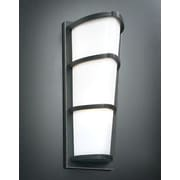 PLC Lighting Alegria 2-Light Outdoor Flush Mount; Oil Rubbed Bronze
