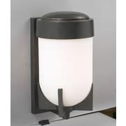 PLC Lighting Firenzi 1-Light Outdoor Flush Mount; 18'' H x 9'' W x 11'' D