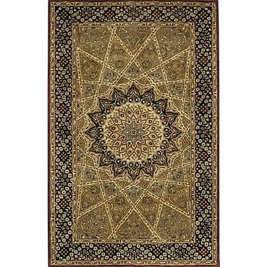 Chandra Dream Brown Area Rug; 2' x 3'