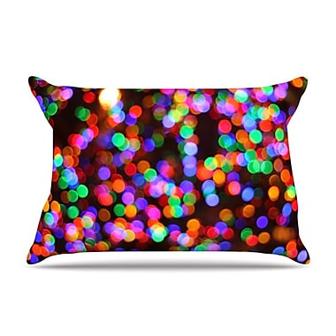 KESS InHouse Lights II Pillowcase; Standard