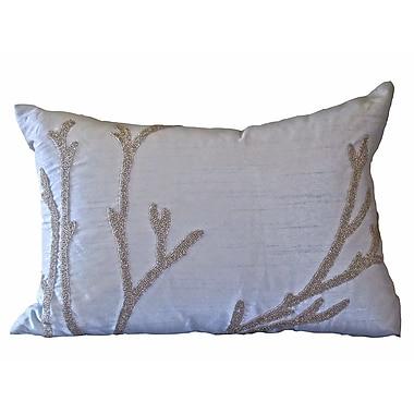 Debage Inc. Bling Reef Lumbar Pillow; Soft Blue