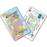 Universal Map U.S. Map Playing Cards