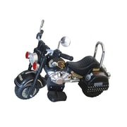 Merske LLC Harley 6V Battery Powered Motorcycle; Black