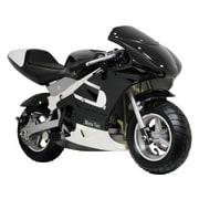 Big Toys MotoTec Pocket Motorcycle; Black