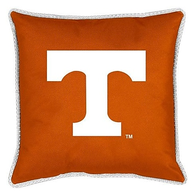 Sports Coverage NCAA Tennessee Sidelines Throw Pillow