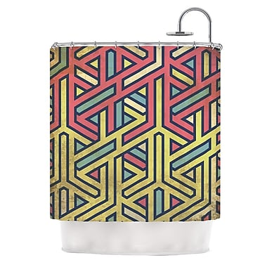 KESS InHouse Deco Shower Curtain