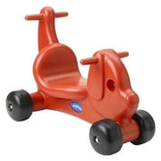 CarePlay Puppy Dog Push/Scoot Ride-On; Red
