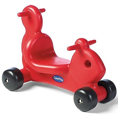 CarePlay Squirrel Push/Scoot Ride-On; Red