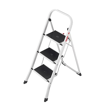Hailo USA Inc. 3-Step Steel Step Stool w/ 330 lb. Load  sc 1 st  Staples & Hailo USA Inc. 3-Step Steel Step Stool w/ 330 lb. Load Capacity ... islam-shia.org