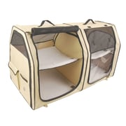 OneForPets Show House Cat Carrier; Cream
