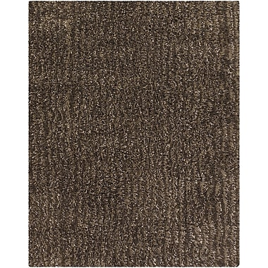 Chandra Jennifer Brown Area Rug; 8' x 10'
