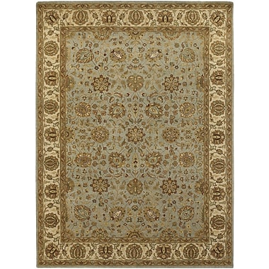 Chandra Cesta Tan / Light Grey Area Rug; 7'9'' x 10'6''