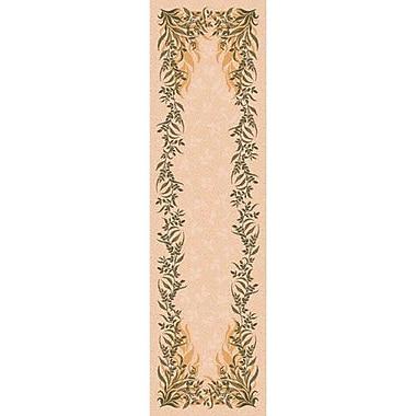 Milliken Pastiche Baskerville Sand Rug; 2'1'' x 7'8''