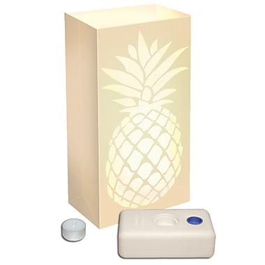 Luminarias Pineapple Candle Luminaria Kit (Set of 12)