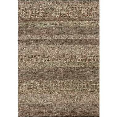Chandra Harber Dark Brown Area Rug; 7'9'' x 10'6''