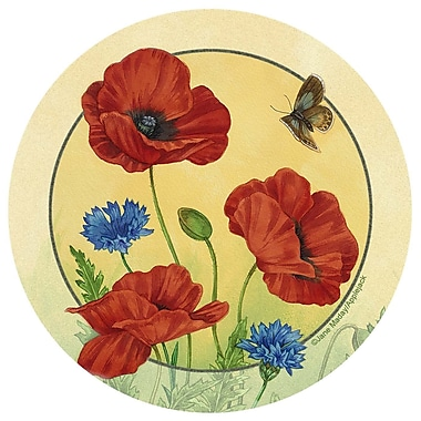 Thirstystone Poppies and Cornflowers Occasions Coaster (Set of 4)