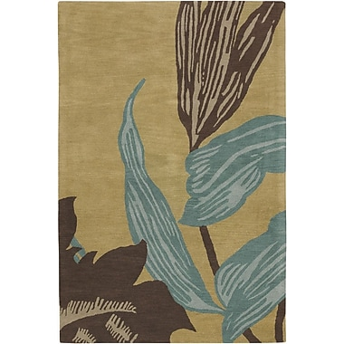 Chandra Aschera Beige Area Rug; 5' x 7'6''