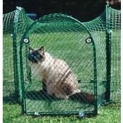Kittywalk Systems T-Connect Outdoor Pet Playpen; Single