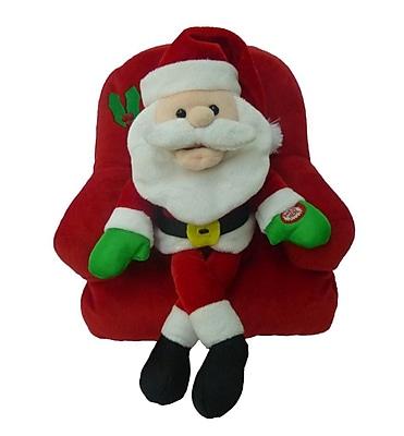 BZB Goods Singing Santa Claus on Sofa