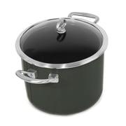 Chantal Copper Fusion 8-qt. Stock Pot w/ Lid; Onyx