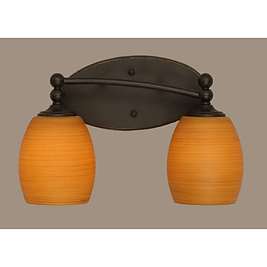 Toltec Lighting Capri 2-Light Vanity Light