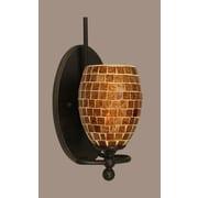 Toltec Lighting Capri 1-Light Armed Sconce