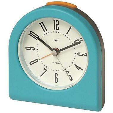 Bai Design Designer Pick-Me-Up Alarm Clock; Aqua
