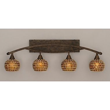 Toltec Lighting Bow 4-Light Vanity Light
