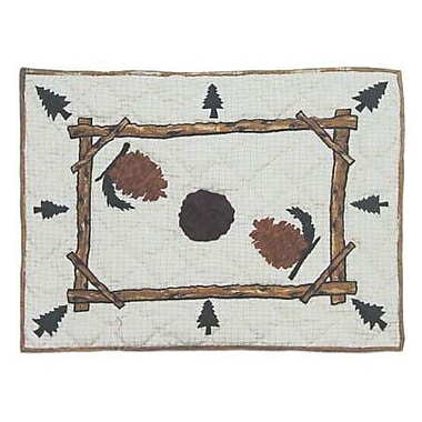Patch Magic Pinewood Pillow Sham