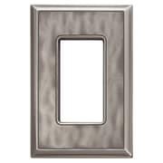 RQ Home Classic Magnetic Single GFCI Wall Plate; Water Classic Nickel Silver