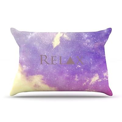 KESS InHouse Relax Pillowcase; Standard WYF078275980390