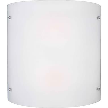 Forte Lighting 2-Light Wall Sconce; Satin Opal