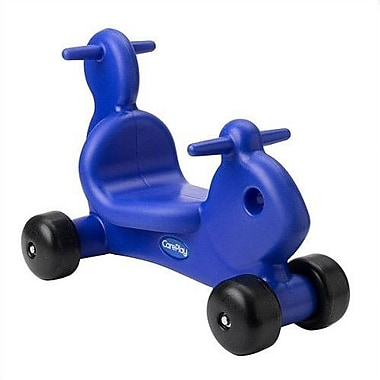 CarePlay Squirrel Push/Scoot Ride-On; Blue