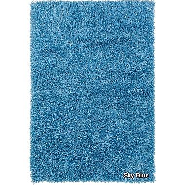 Chandra Sidney Blue Area Rug; 5' x 7'6''