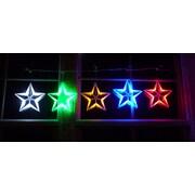 Homebrite Solar Star String Light; Multi-Color