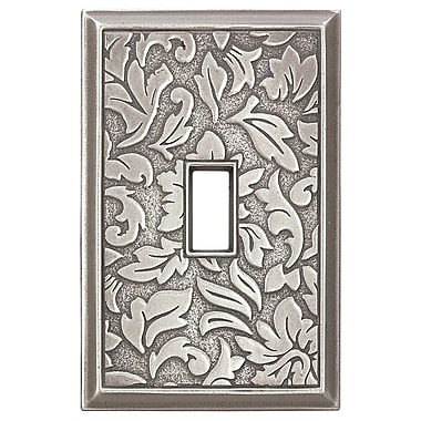 RQ Home Deco Damask Magnetic Single Toggle Wall Plate