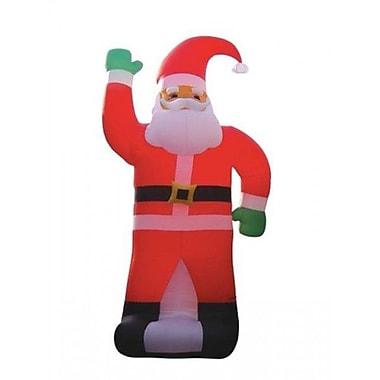 BZB Goods Christmas Inflatable Huge Santa Claus Decoration