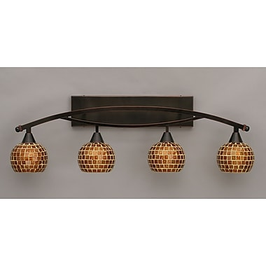 Toltec Lighting Bow 4-Light Vanity Light