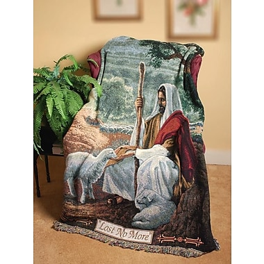 Manual Woodworkers & Weavers Lost No More Tapestry Cotton Throw