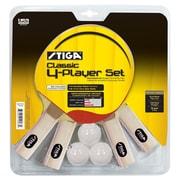 Stiga Classic 4 Player Table Tennis Racket Set