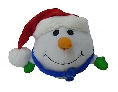 BZB Goods Singing Snowman Musical Plush Toy w/ Motion