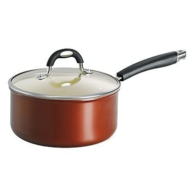 Tramontina Style Ceramica Sauce Pan w/ Lid; 3-qt.