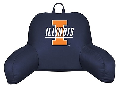 Sports Coverage NCAA Illinois Bed Rest Pillow