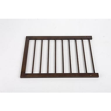 Cardinal Gates Extension for Step Over Gate; Walnut