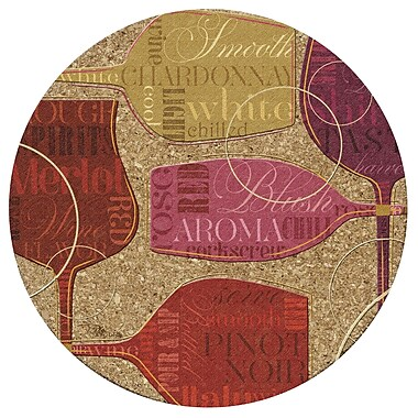 Thirstystone Colorful Wine III Cork Trivet